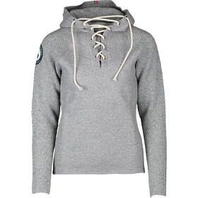 Amundsen Sports Boiled Laced Hoodie Herre light grey